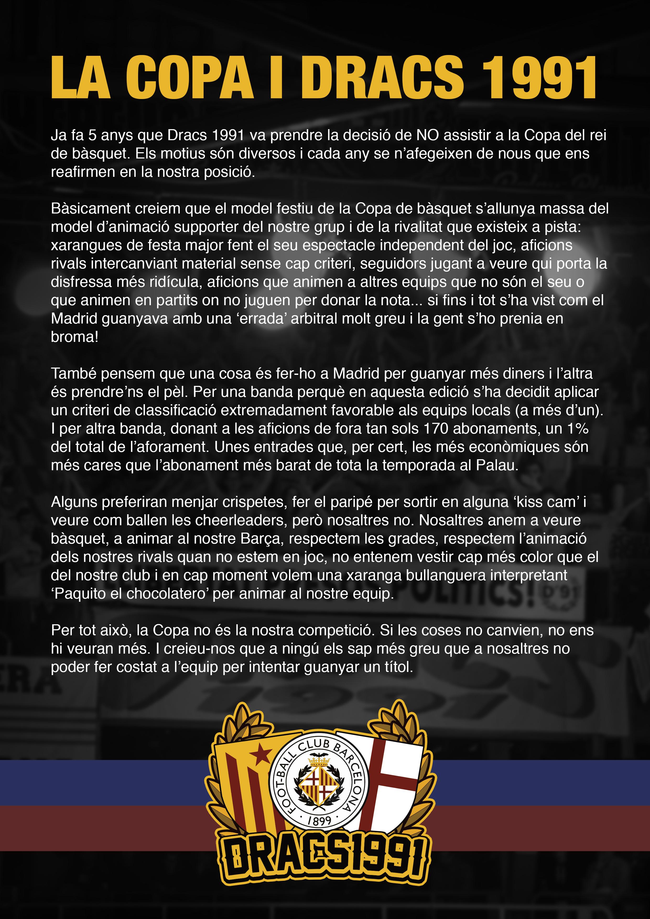 Text Copa del Rei